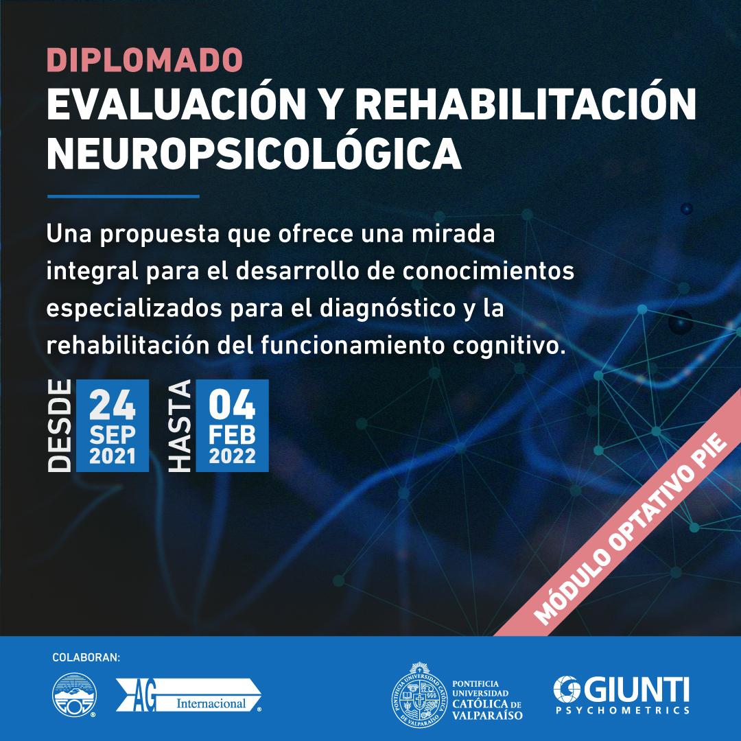 Diplomado Evaluación y Rehabilitación Neuropsicológica