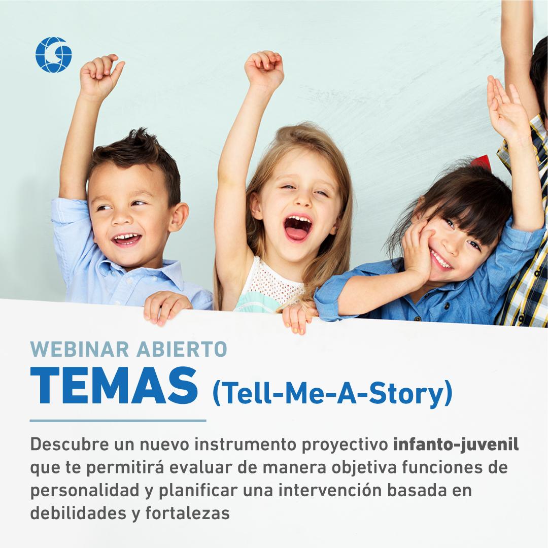 Webinar Abierto - TEMAS