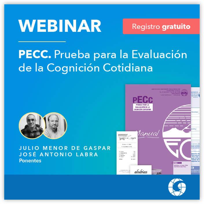 Webinar Gratuito - Prueba para la Evaluación de la Cognición Cotidiana (PECC)  | 02-03-2021