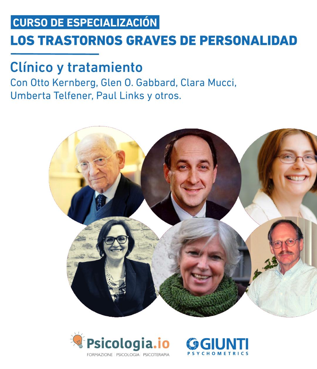 Curso de Especialización: Los trastornos Graves de Personalidad