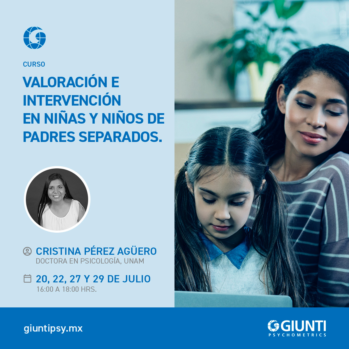 Valoración e Intervención en niñas y niños de padres separados